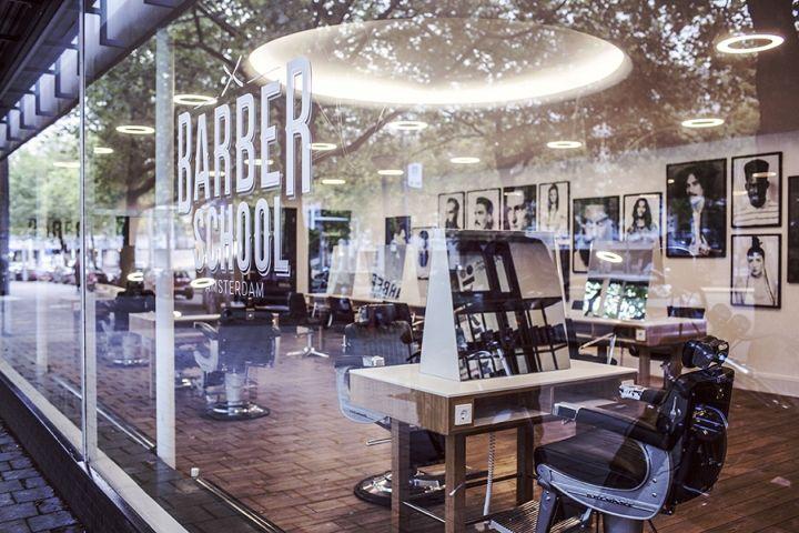 Barber School Amsterdam by studiomfd, Amsterdam – Netherlands » Retail Design…