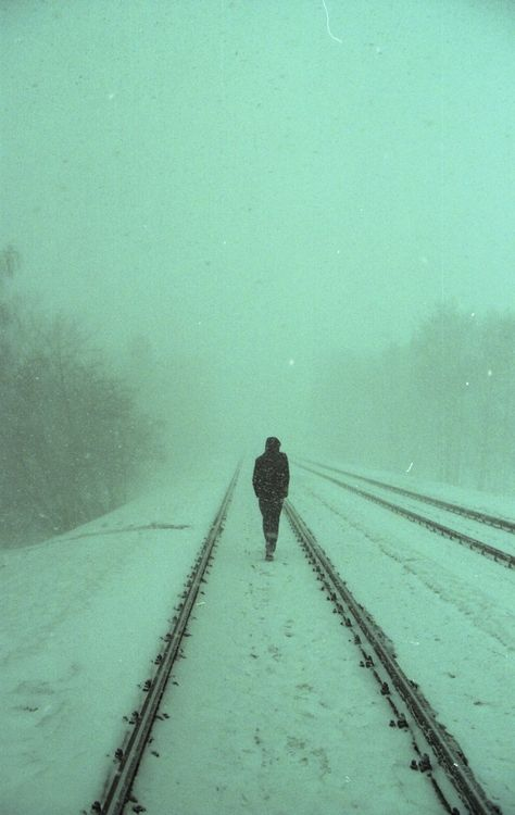 """Some days in this life, you are the tracks that lead off to some mysterious and wonderful distance. Some days you are the train, strong and filled with purpose and fire and the promise of a destination ..."" -Coins on a Train Track, Tyler Knott Gregson"