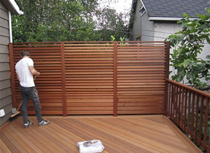 Related Image Deck Privacy Outdoor Panels Fence Planning