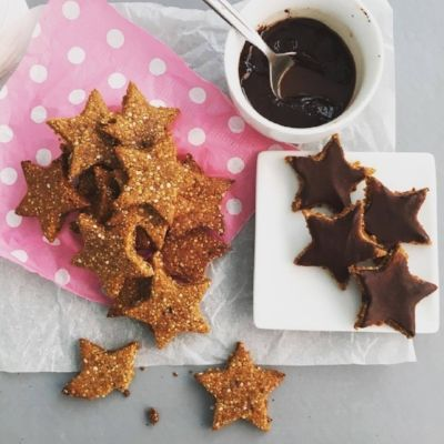 Chewy Fig & Gingerbread Cookies. Gluten and Dairy free, these are super delicious and easy to make.