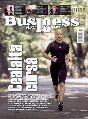 Oamenii de afaceri s-au apucat de sport! In revista Business Magazin de saptamana aceasta, puteti citi despre trendul sportiv care a cuprins comunitatea business dar si jumatate din populatia urbana a Romaniei.  Aboneaza-te gratuit la Titlurile Zilei si fii la curent cu prima pagina a ziarelor si revistelor din Romania acum: http://www.titlurile-zilei.ro/economie-business #sport #business #lifestyle