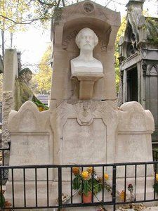 Le cimetière du Père Lachaise-Alfred de Musset