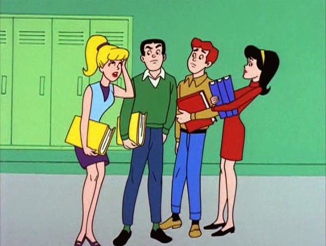 Archie Cartoon | Related Pictures archie and the gang on the radio flickr photo sharing ...