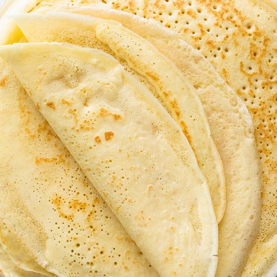 This easy crepe recipe delivers crepes that are paper-thin and perfectly lacy. Add any sweet or savory filling of your choice for the ultimate treat.