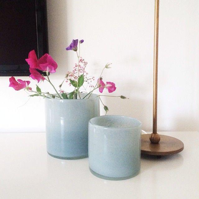 Fint med våra vaser/krukor hemma hos Hanna Elfver