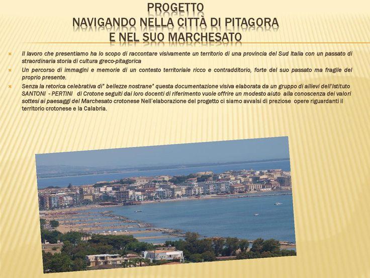 Navigando nella città di pitagora  informazioni utili su Crotone e provincia
