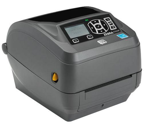Drukarka RFID UHF Zebra ZD500R to drukarka pracująca w technologii termicznej i termotransferowej, przeznaczona do używania z różnymi etykietami i znacznikami RFID.