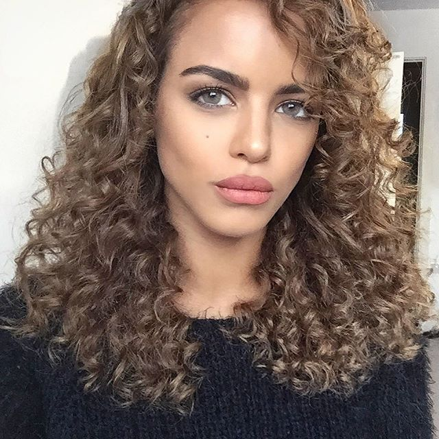 natural hair styles for winter best 25 brown curls ideas that you will like on 7014 | 3a5d8faf7c1dac97b7014e78f3b83d65 brown curls kenza zouiten