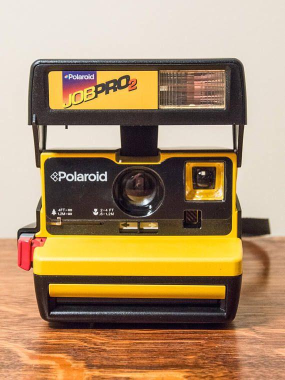 e53adacdd3cf62 Polaroid Job Pro 2, Vintage Polaroid, Tested, Polaroid, Polaroid ...