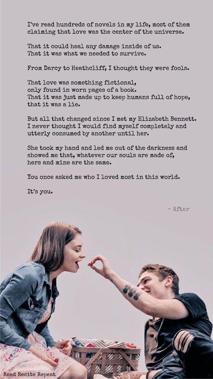After Movie Movie Love Quotes Romantic Movie Quotes Romantic Book Quotes