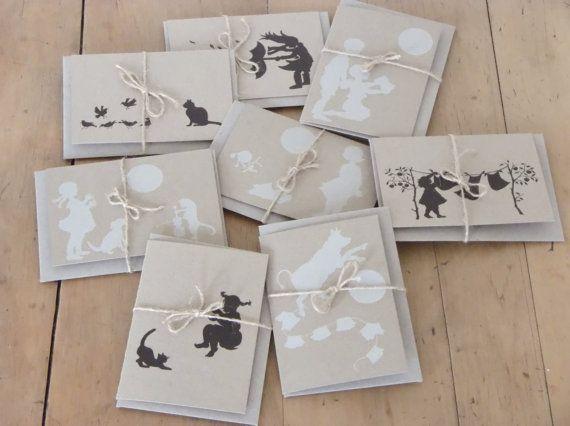 Your choice of 6 Dear Daisy Chain cards by DearDaisyChain on Etsy, $25.00