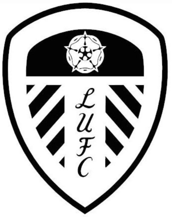 Leeds United Football Club Badge Car Van Sticker Decal Free P P Made In Yorkshire In 2020 Leeds United Football Club Badge Leeds United
