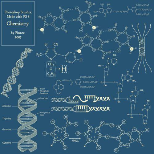 Awesome Biochemical Photoshop Brushes