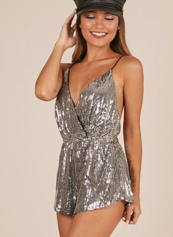 Hualong Sexy Club Sequin Dressy Rompers Jumpsuits In 2019