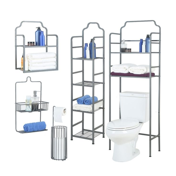 The 5-Piece Bathroom Organizer Bundle is ideal for all bathrooms that need a bit of extra organization. Shop now -->  https://www.tidyliving.com/tidy-living-5pc-bathroom-organizer-bundle.html?utm_content=bufferc907d&utm_medium=social&utm_source=pinterest.com&utm_campaign=buffer #TidyLiving #Bathroom #Organization #SpaceSaver #TowelRack #WallShelf #BathTower