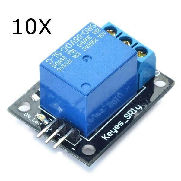Ebay Sponsored 10pcs 5v Relay Module 5 12v Ttl Signal 1 Channel