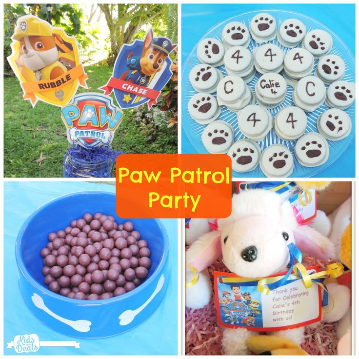 Kids and Deals: Host a Paw Patrol Birthday Party