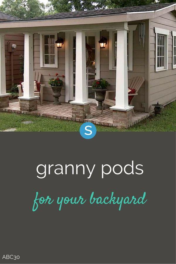 25 Best Granny Pod Ideas On Pinterest