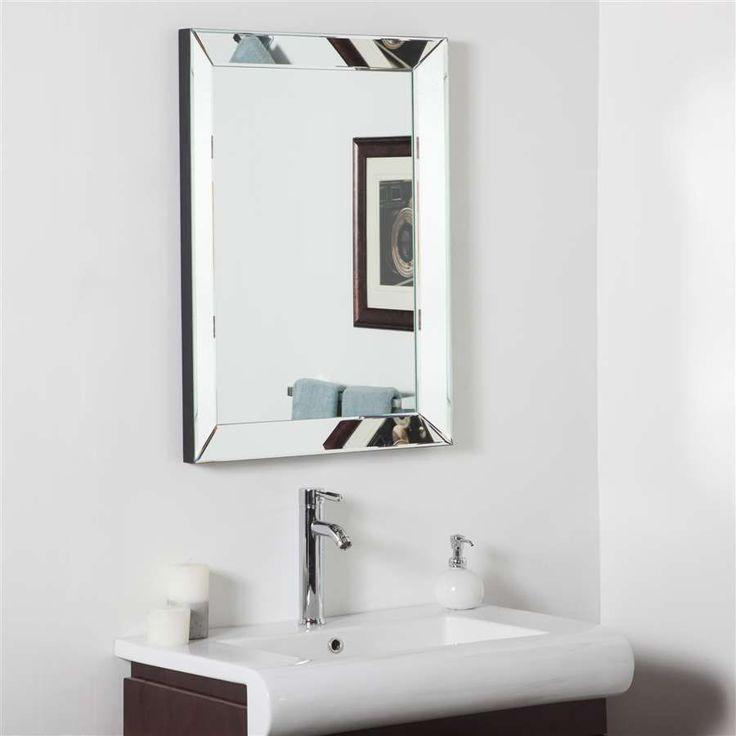 decor wonderland mirror framed bathroom wall mirror ssd102s decorative