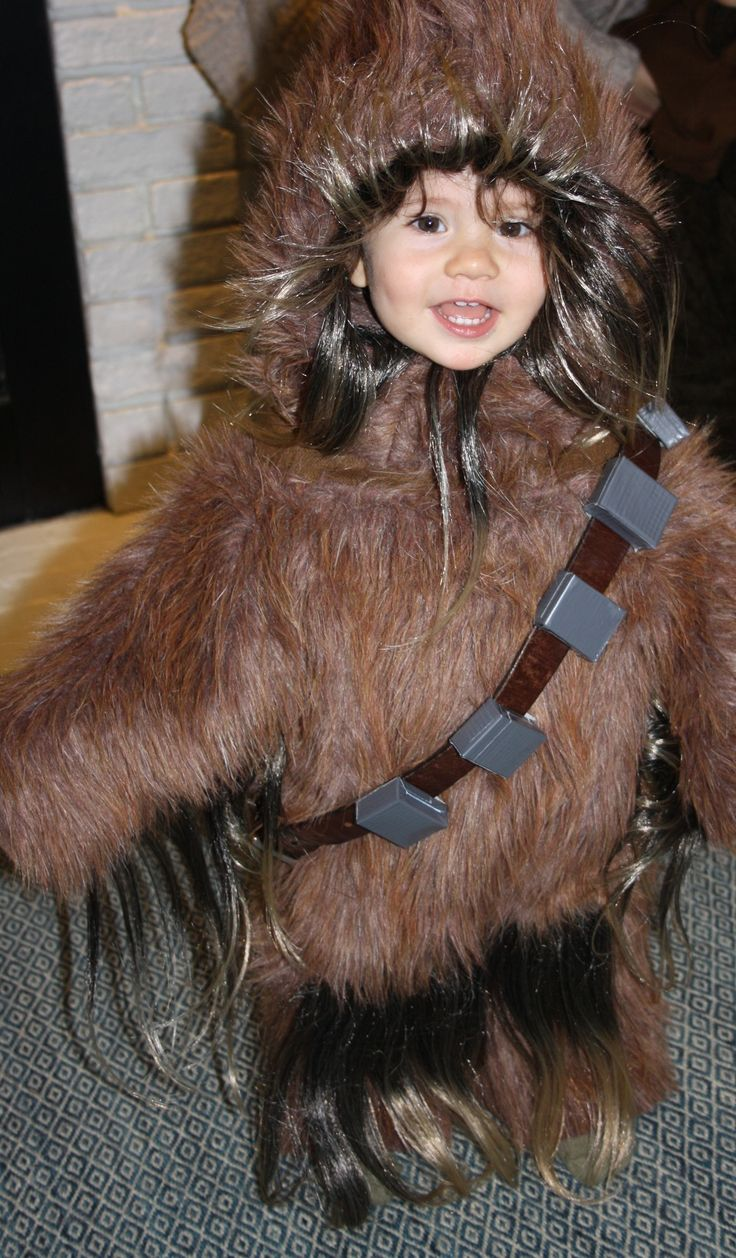 Handmade Toddler Chewbacca Costume To Handmake