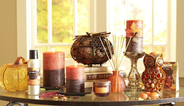 Pier 1 Creamy Caramel Pumpkin Fragrance and Candle Collection