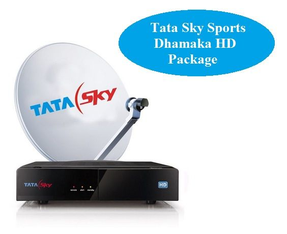 DTH Bazaar is one of the best online DTH market place in India, from where you can buy Tata Sky Set Top Box with 1 Month Sports Dhamaka HD Package at the best price. Get the complete information about the Tata Sky Sports Dhamaka HD Package.