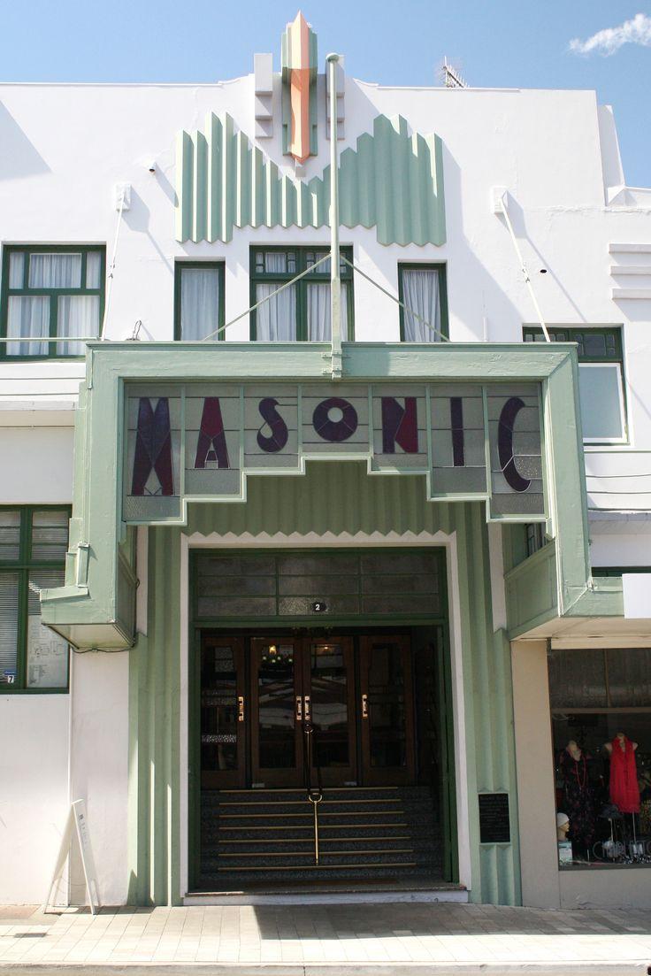 napier new zealand art deco buildings - Google Search | My ...
