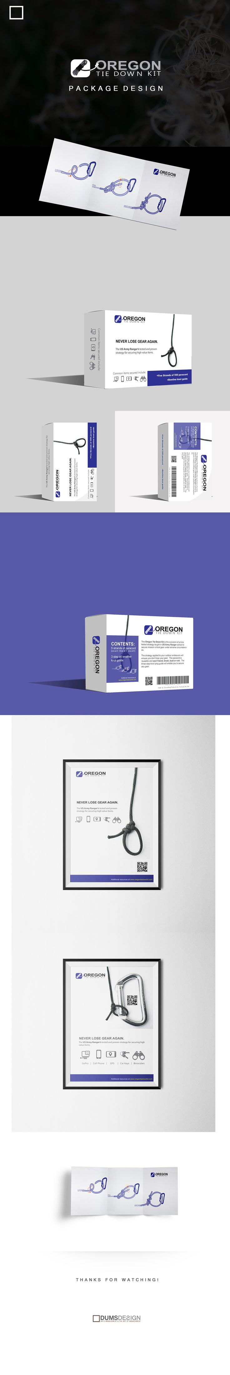 Oregon Tie Down Kit - Packaging Design on Behance