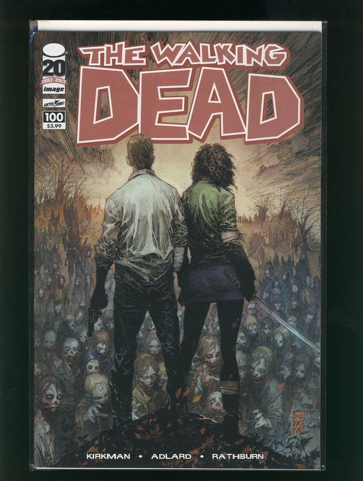 The Walking Dead # 100 1st Negan/Death Glenn -Marc Silvestri Cover B VF/NM