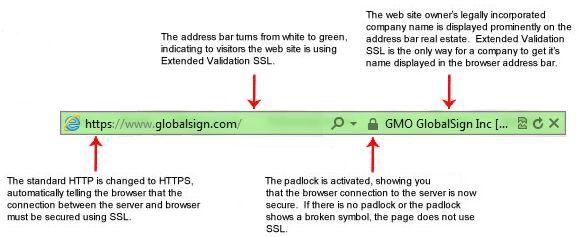 Groene SSL-balk