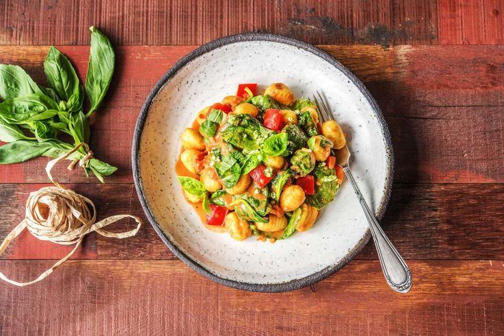 Tomato Gnocchi with Pesto Recipe   HelloFresh