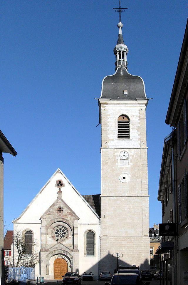 Delle (Territoire de Belfort), Église Saint-Léger - Wikipédia
