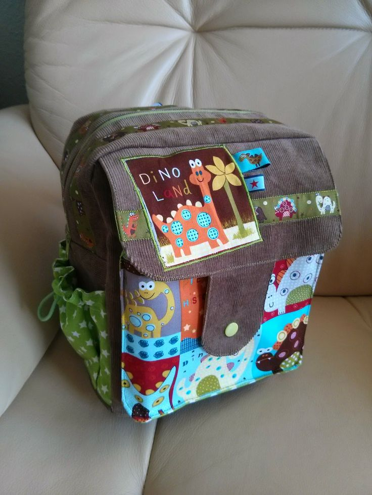 lillesol  pelle Schnittmuster/ pattern: Kindergartenrucksak Rudi