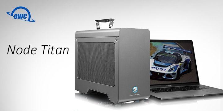 Owc Akitio Node Titan Tb3 Egpu 顯示卡外接盒 筆電也能享受高階桌上型顯卡的效能in 2020 Home Appliances Space Heater Home