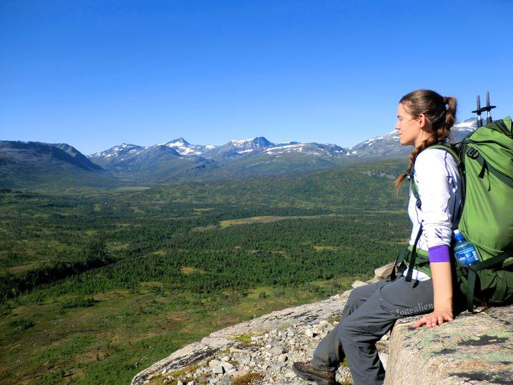 Enjoying the view on the way up to #Trollhøtta. #Hiking #Trollheimen #Trollhetta #Norway