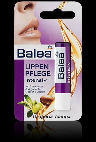 BALEA  balsam  do ust masło shea-olej arganowy HIT 7.90zl