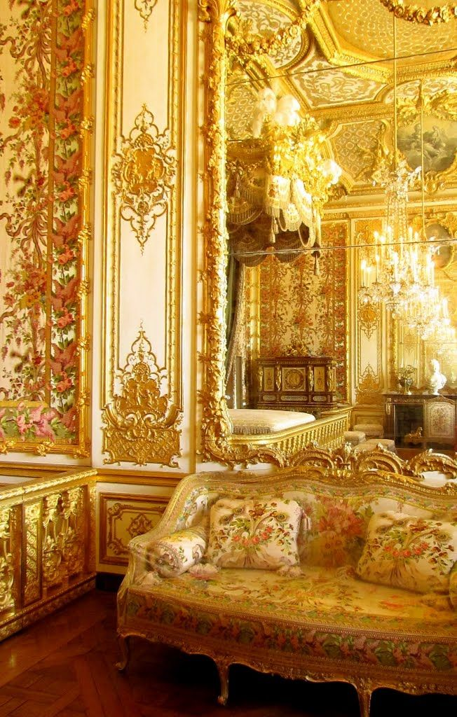 Palace of Versailles: interior detail