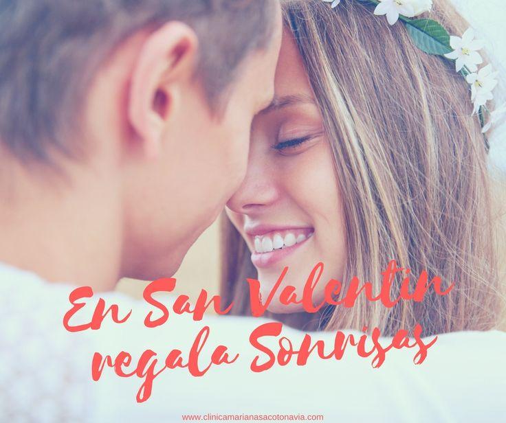 En San Valentín, regala #Sonrisas a quien más quieras. Blanqueamiento dental para embellecer su sonrisa o la tuya.