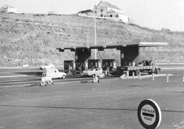 ALMADA - Portagens da Ponte Salazar em 1966 - 014