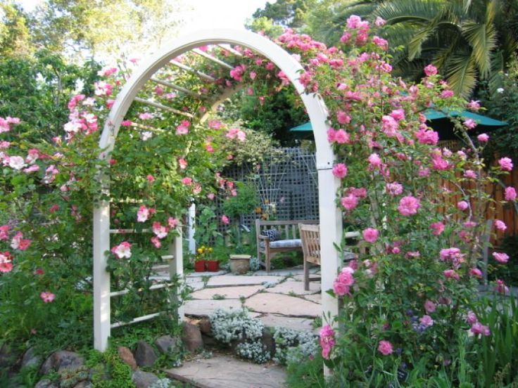 Trellis wedding ideas pinterest for Garden design ideas cottage