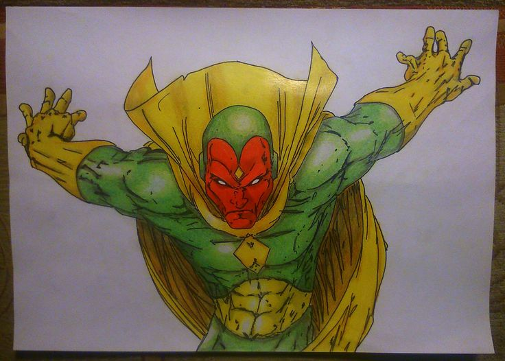 Vision (Originally Red Tornado...)