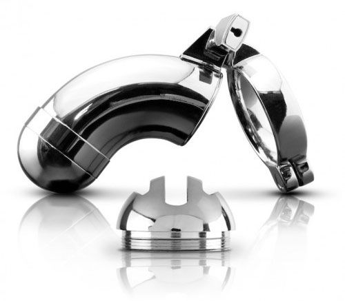 Metal Worx Chastity Device for Sale  Metal, sex and art fused together to produce this sexy, alluring and erotic Chastity Device  With two interchangeable heads and hand polished stainless steel finish, the Metal Worx Chastity Device look and feels ahead of the game  The escape proof design is