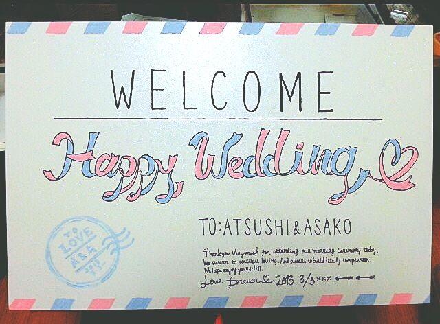 ILLUST&DESIGN JOY  #wedding #welcome #weddingbord #bord #pastel #ウェルカムボード #結婚式 #ウェディング