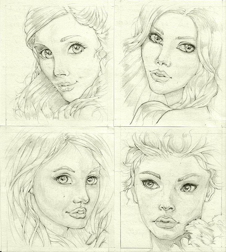 100portraits-53-56 by 5agado.deviantart.com on @DeviantArt