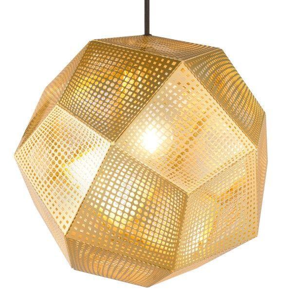 Tom Dixon Etch hanglamp messing | FLINDERS verzendt gratis