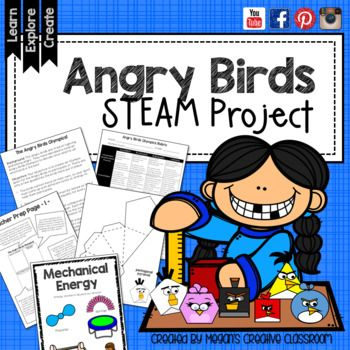 Angry Birds + Olympics = STEAM Fun! **Now with Winter Olympics PyeongChang 2018 Tie-Ins** This STEM Challenge is an engaging activity that inspires creativity and encourages students to bring unique and thoughtful ideas to their work! My students LOVE Angry Birds.