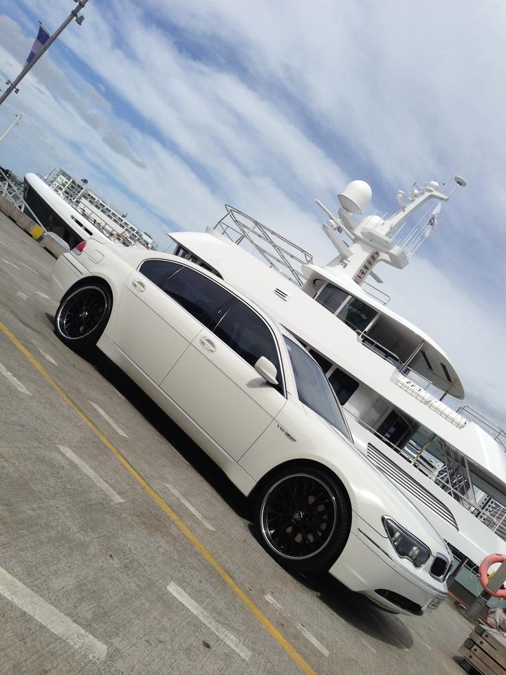 My 760LI,  but not my boat....