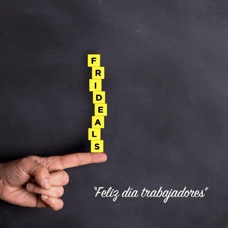 """""""El logro supremo es borrar la línea entre el trabajo y el juego"""",  Arnold J. Toynbee ¡Feliz #DíaDelTrabajador!"""