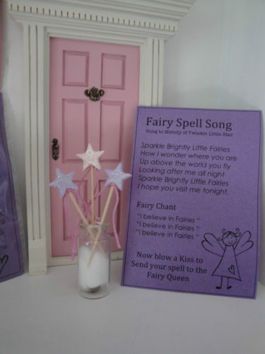 Fairy door accessories miniature fairy wand fairy wand for Elf door accessories