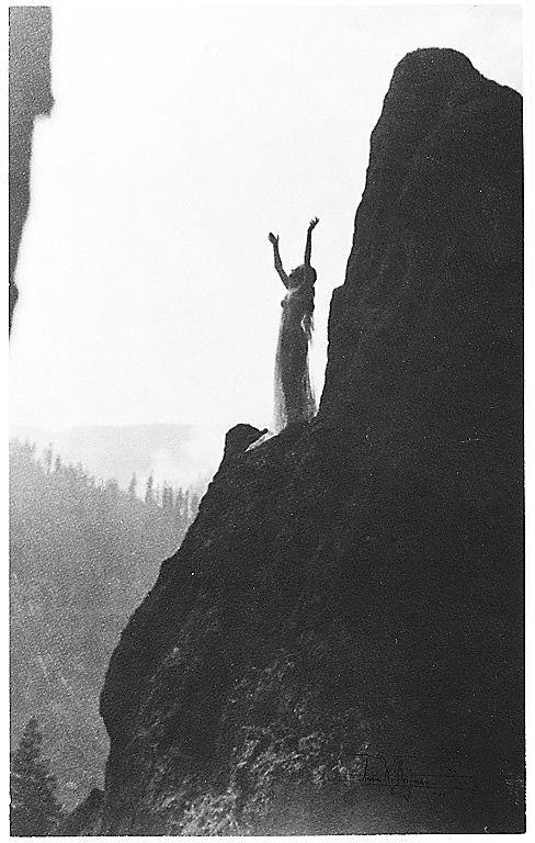Anne W. Brigman, Incantation, 1905.